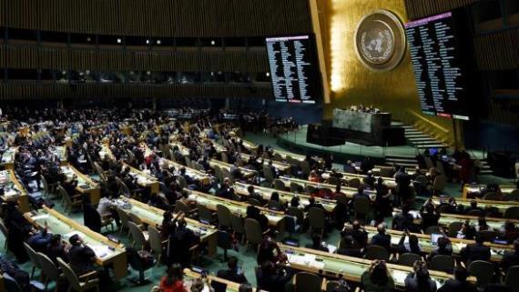 الجمعية العامة للأمم المتحدة تجدد مطالبتها إسرائيل بالانسحاب من كامل الجولان السوري المحتل