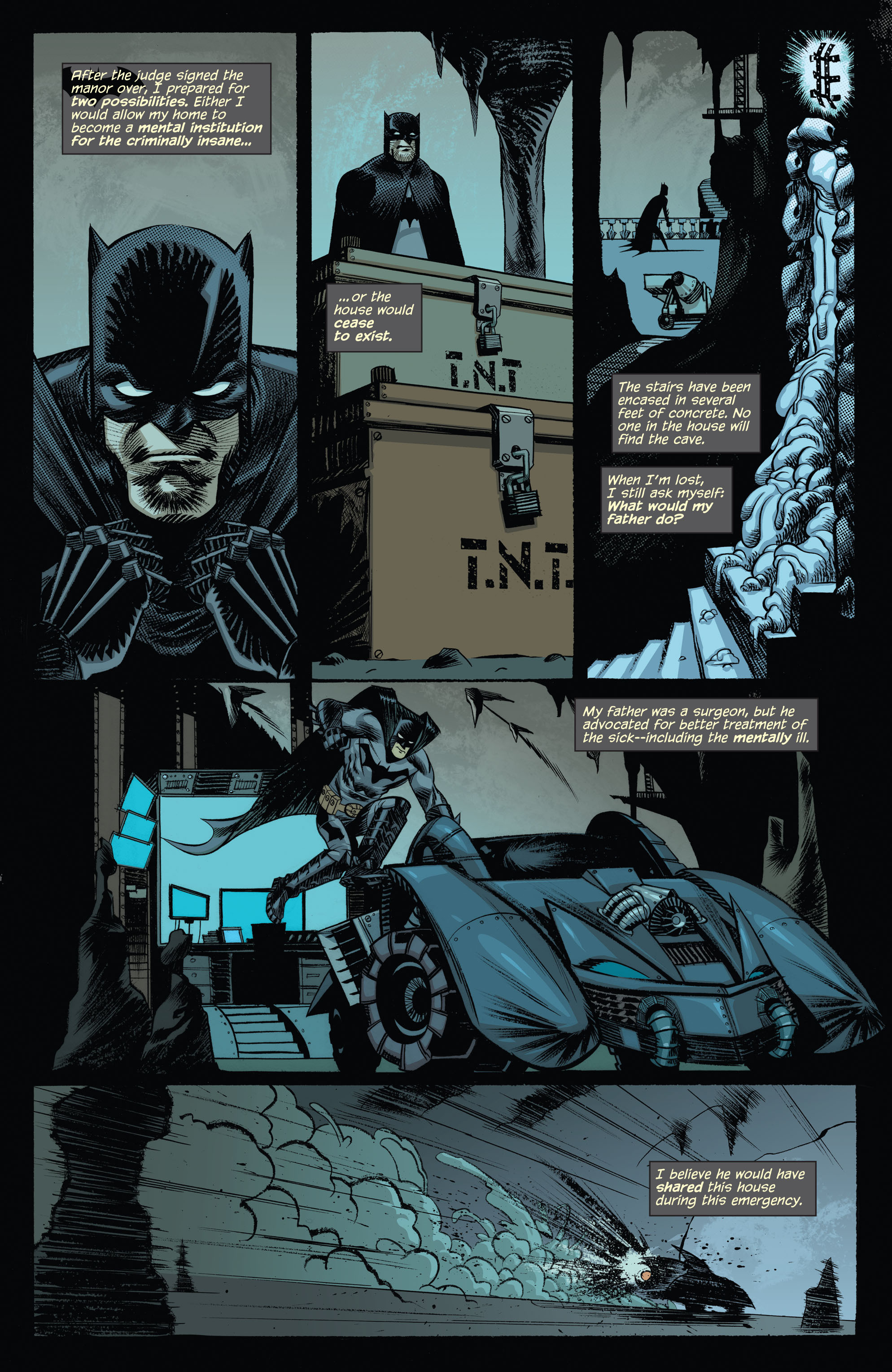 Read online Arkham Manor comic -  Issue #1 - 8