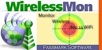 تحميل برنامج ويرلس مون لاختراق شبكات الويرلس لجميع الاجهزه . Download WirelessMon