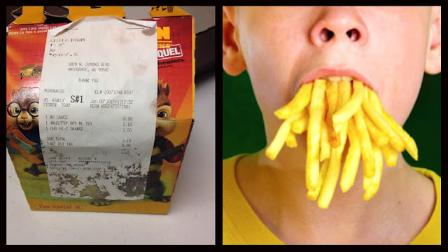 SHOCKING:American Woman Shared Photos Of A 6 Year Old McDonald's Happy Meal