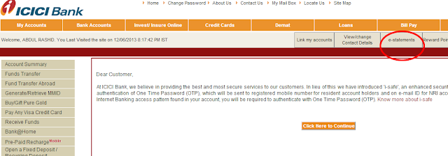 Icici Bank Statement In Pdf Format