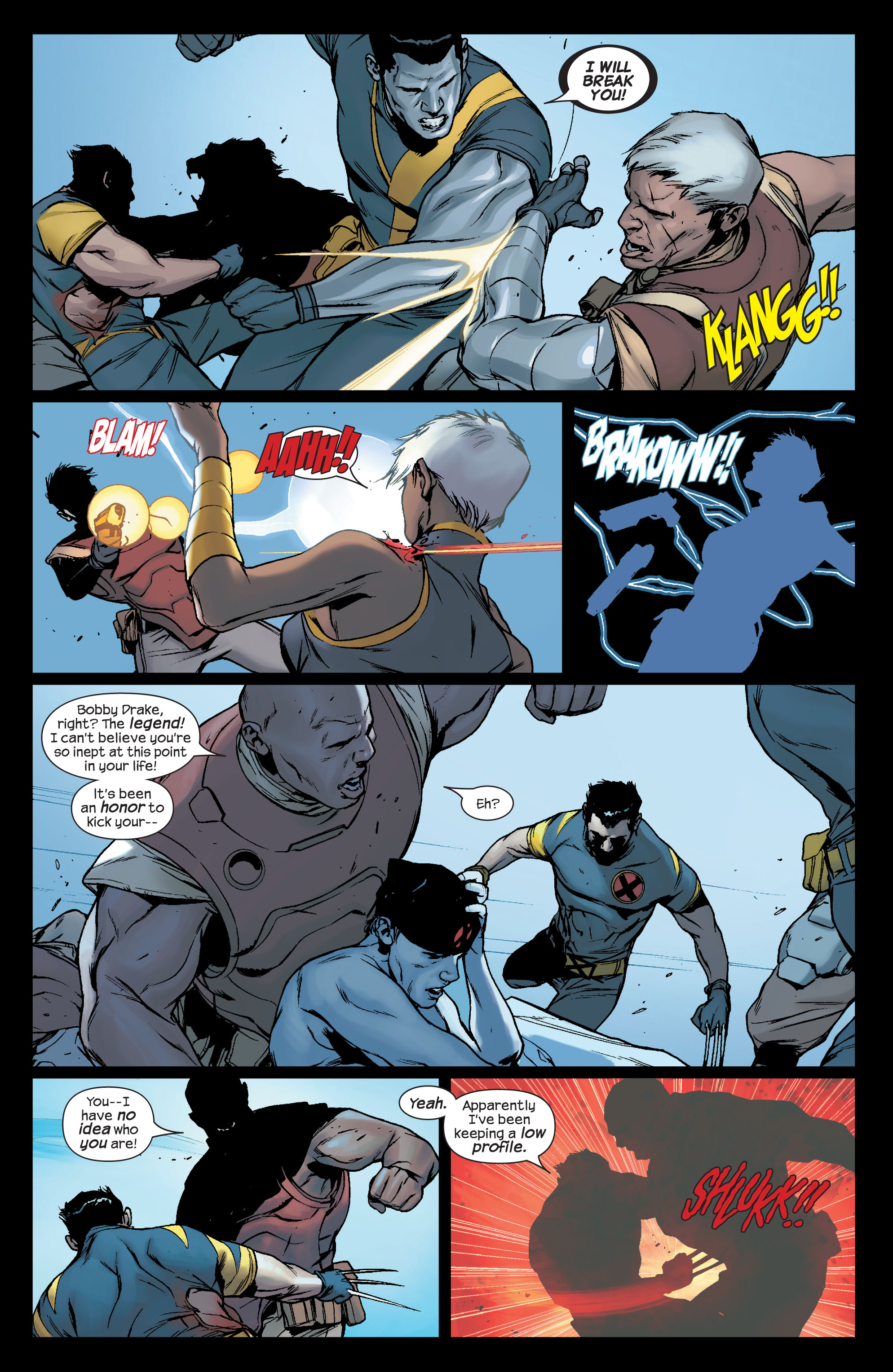 Read online Ultimate X-Men comic -  Issue #78 - 4