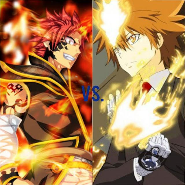 Natsu Dragneel vs. Sawada Tsunayoshi