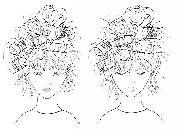 utilizar un peinado sencillo
