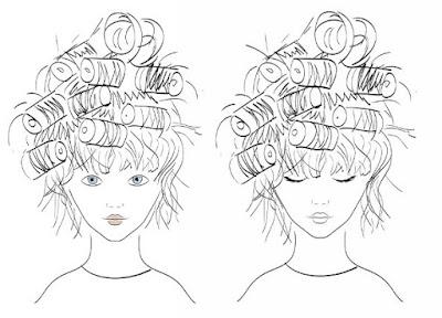 Utilizar un peinado sencillo  -1 historieta-
