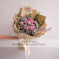 jual handbouquet import, jual mawar ungu, bouquet hadiah ulang tahun