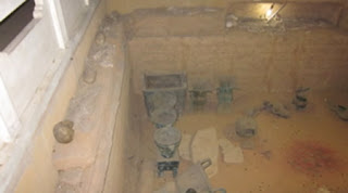 The Burial Pit inside of Fu Hao's tomb