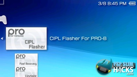 cipl flasher for pro-b