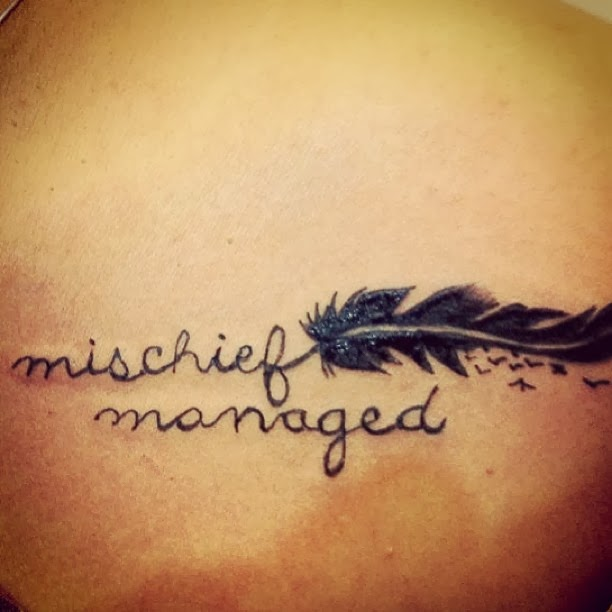 Mischief Managed: Why did you get a Harry Potter tattoo?