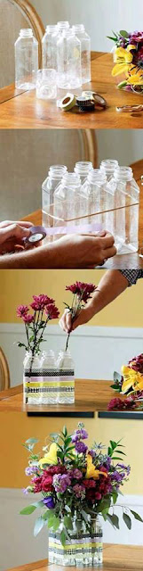 manualidades DIY útiles para hacer con envases y botellas de plástico recicladas