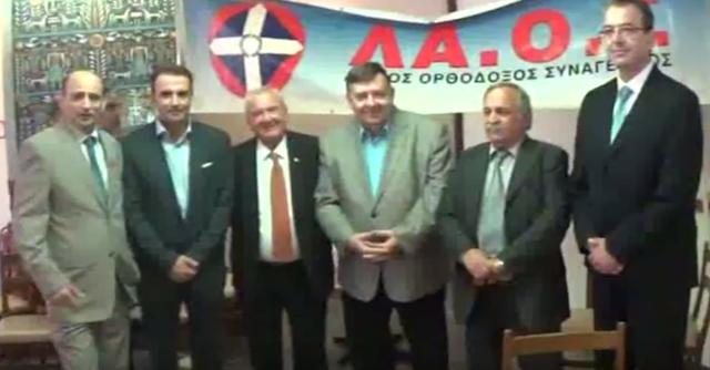 Περιοδεία Γιώργου Καρατζαφέρη στη βόρεια Ελλάδα (video)