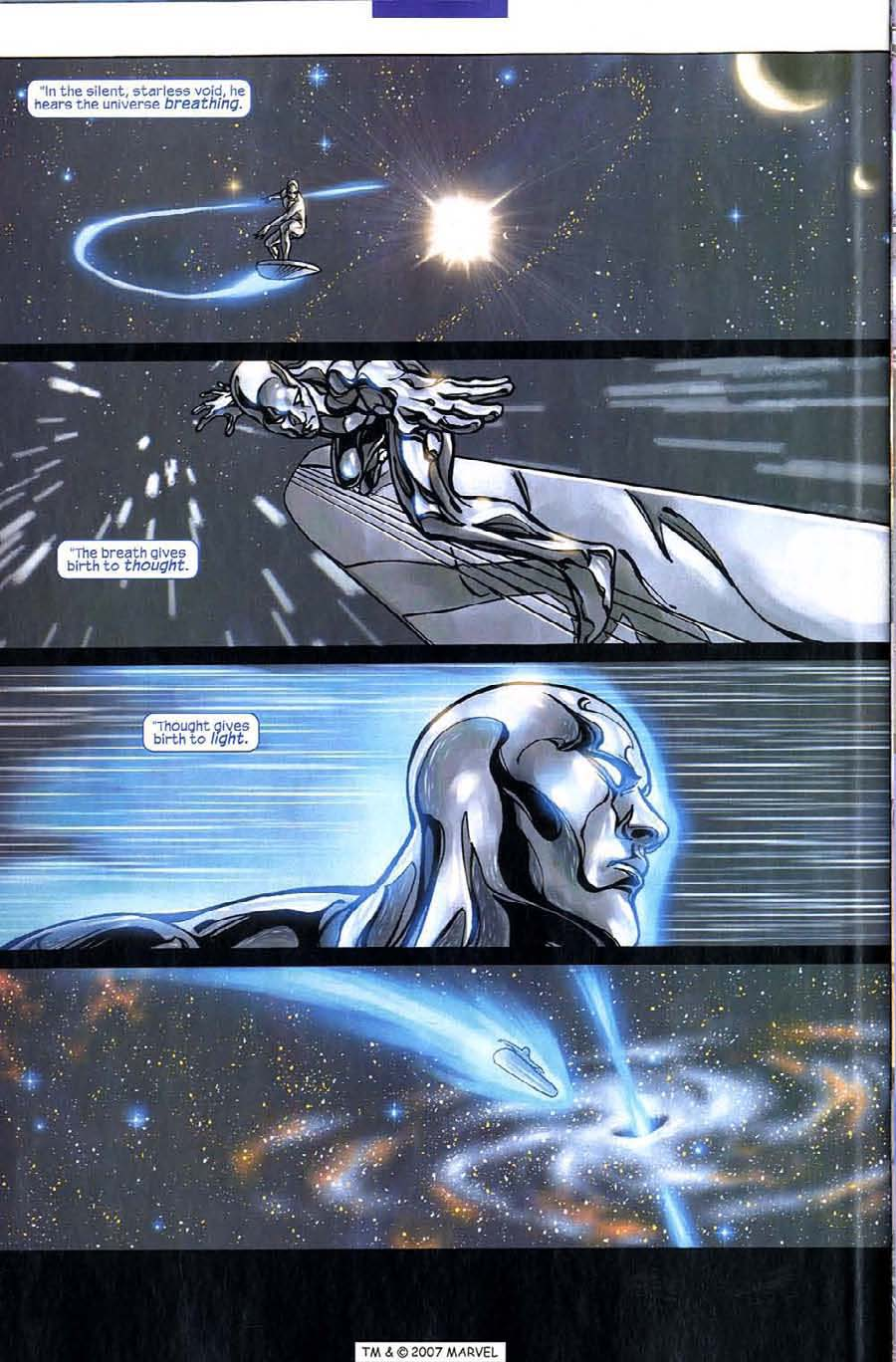 Read online Silver Surfer (2003) comic -  Issue #5 - 32