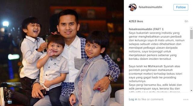 Penjelasan  Faisal Nasimuddin Mengenai Video Rebut Anak