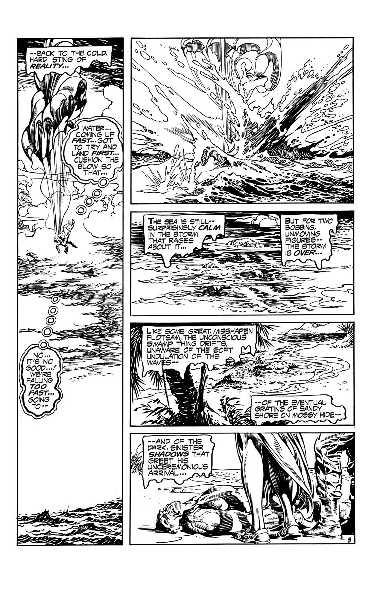 Swamp Thing (1972) Issue #16 #16 - English 6