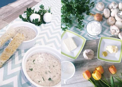 Krem pieczarkowy, zupa krem z pieczarek. Prosty, szybki i smaczny przepis na delikatną zupę - krem z pieczarek.