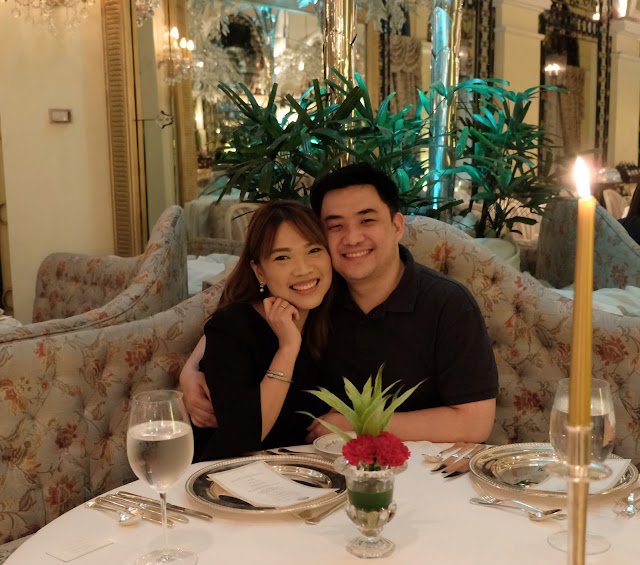 a photo of Nikki and Keith Tiu at The Manila Hotel