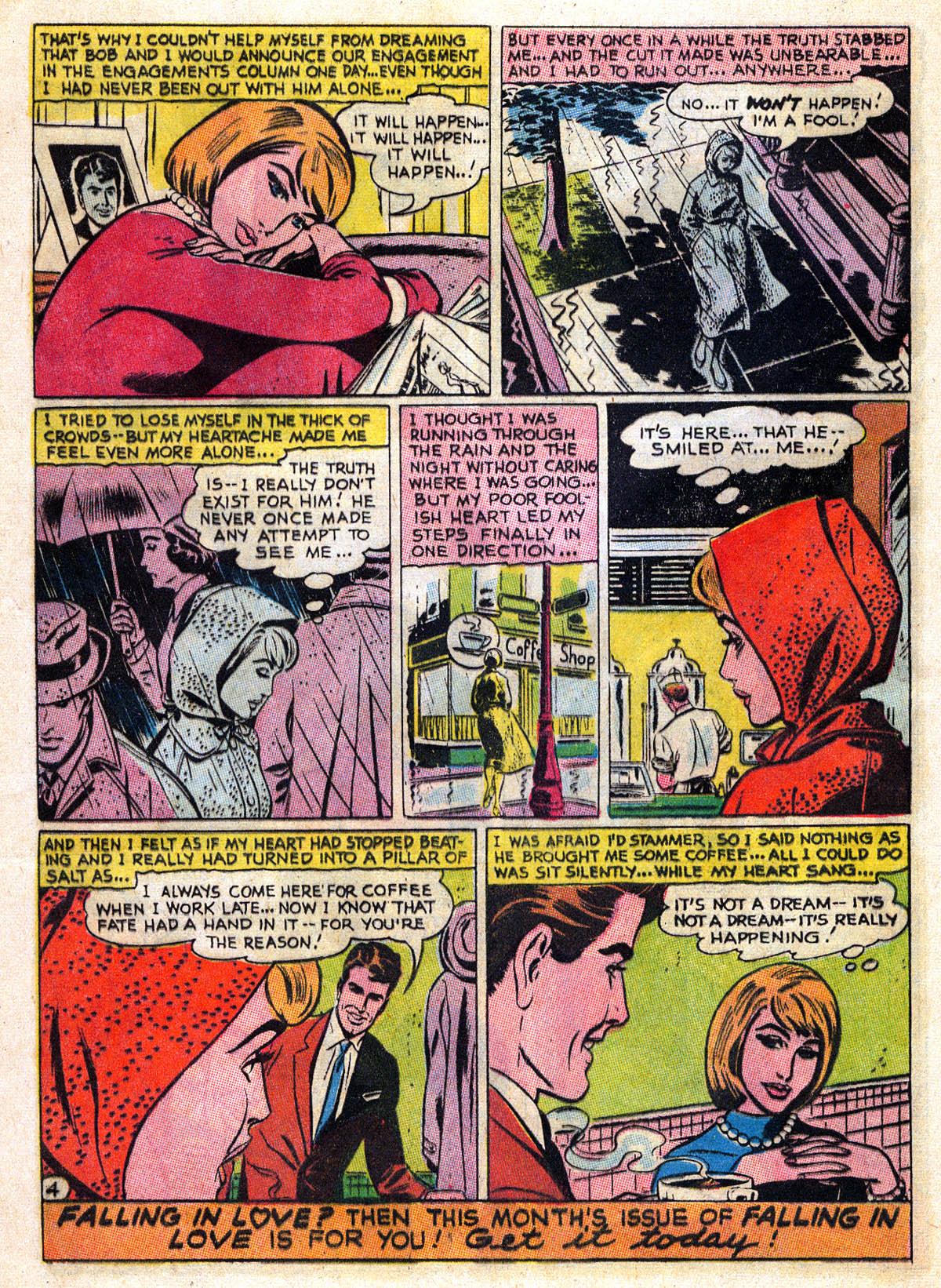 Read online Secret Hearts comic -  Issue #109 - 16