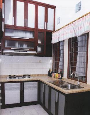 bentuk dapur minimalis type 36