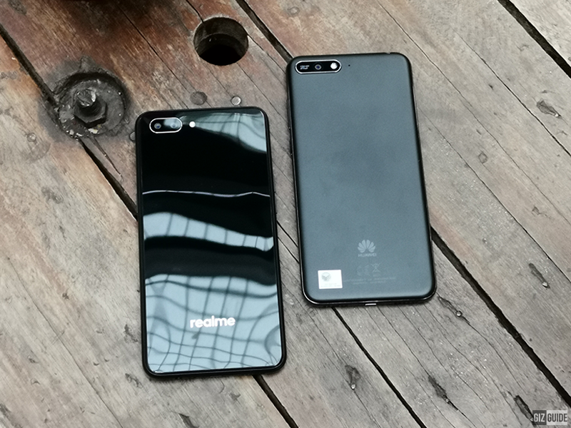 Glass-like versus matte finish back design