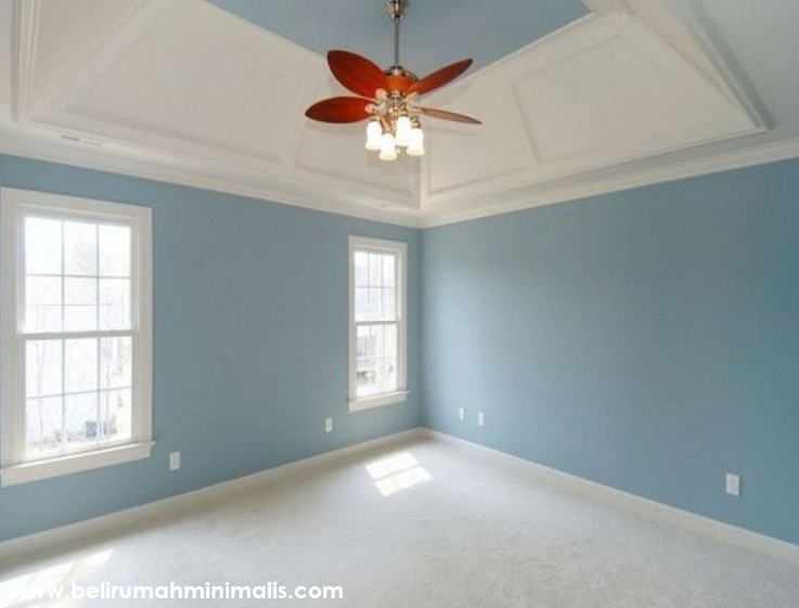 4 Tips Memilih Warna Cat Rumah Minimalis Yang Bagus