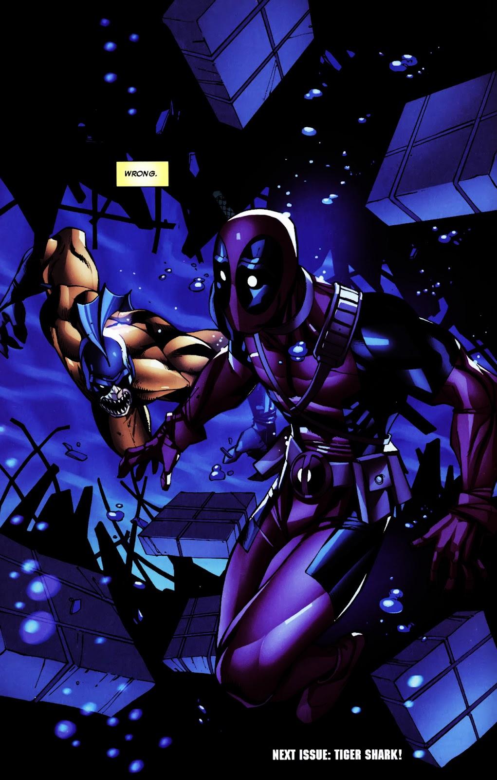 Read online Deadpool (2008) comic -  Issue #5 - 23