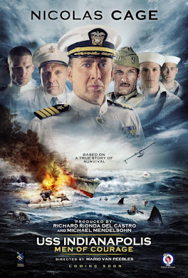 USS Indianapolis Men Of Courage 2016 DVD R1 NTSC Latino