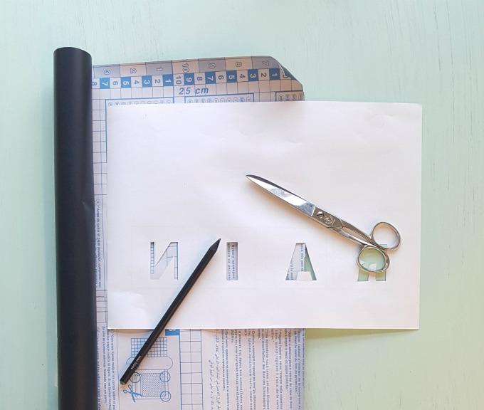 tutorial crear letras en vinilo