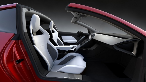 Interior Tesla Roadster
