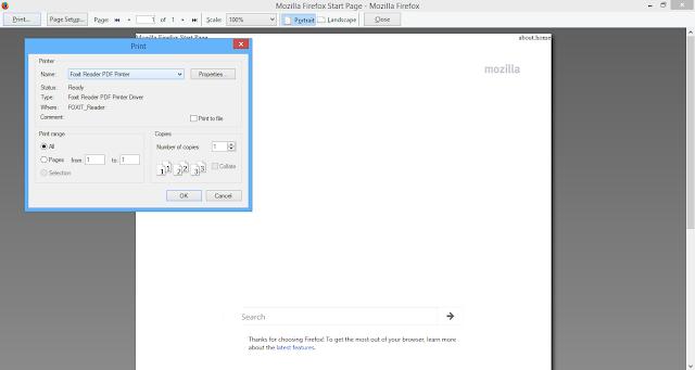 Catatan Ikrom Cara Convert HTML Menjadi PDF dengan Mozilla Firefox