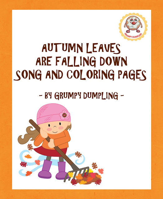 https://www.teacherspayteachers.com/Product/Autumn-Leaves-Are-Falling-Down-Song-and-Coloring-Pages-2167628