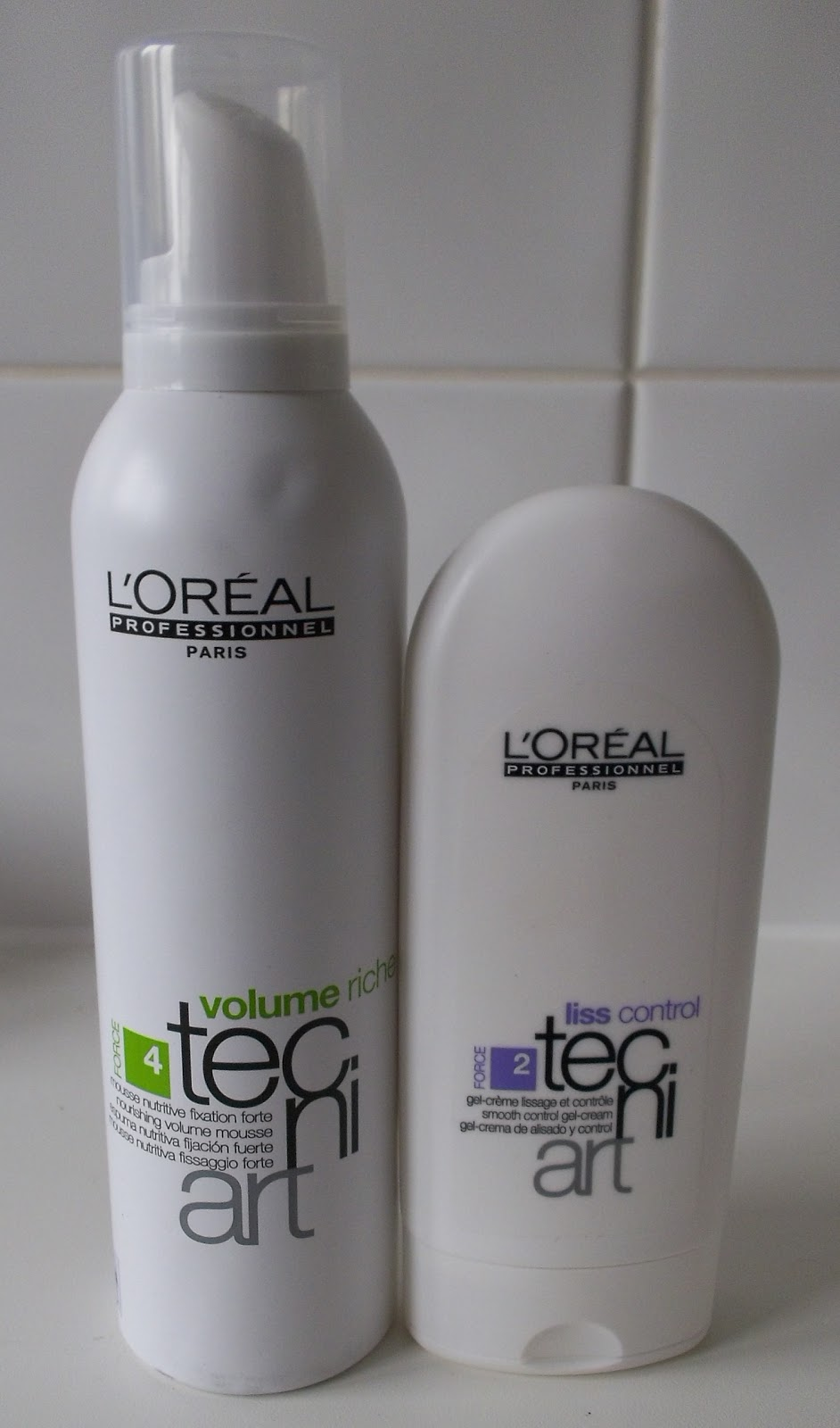 L Oreal Tecni Art Prize! Mousse and Liss Control - Sophie Rose 22d8cf496f8