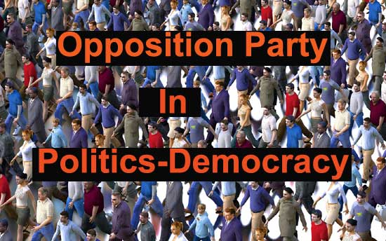 role of opposition party in politics democracy
