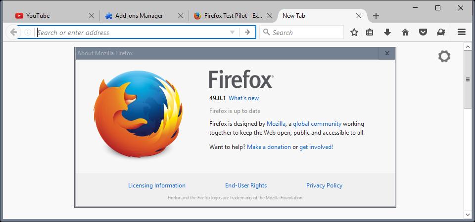 Firefox Setup 45.0b10 Free Full Version Browsing Software