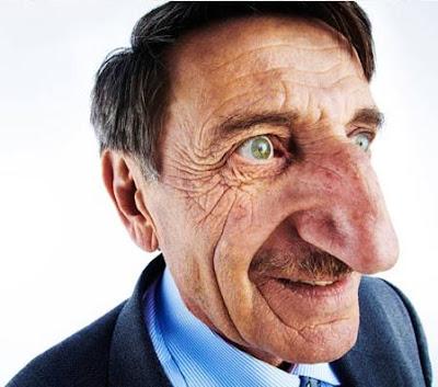 Maior nariz do mundo é do turco Mehmet Ozyurek