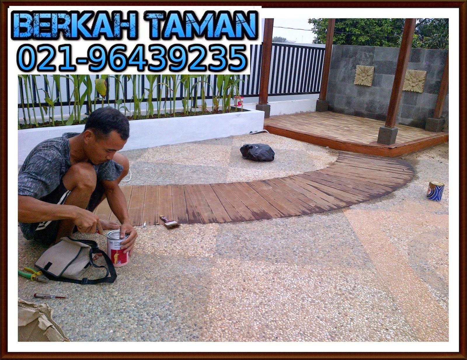 pembuatan taman atap roof garden-tukang taman
