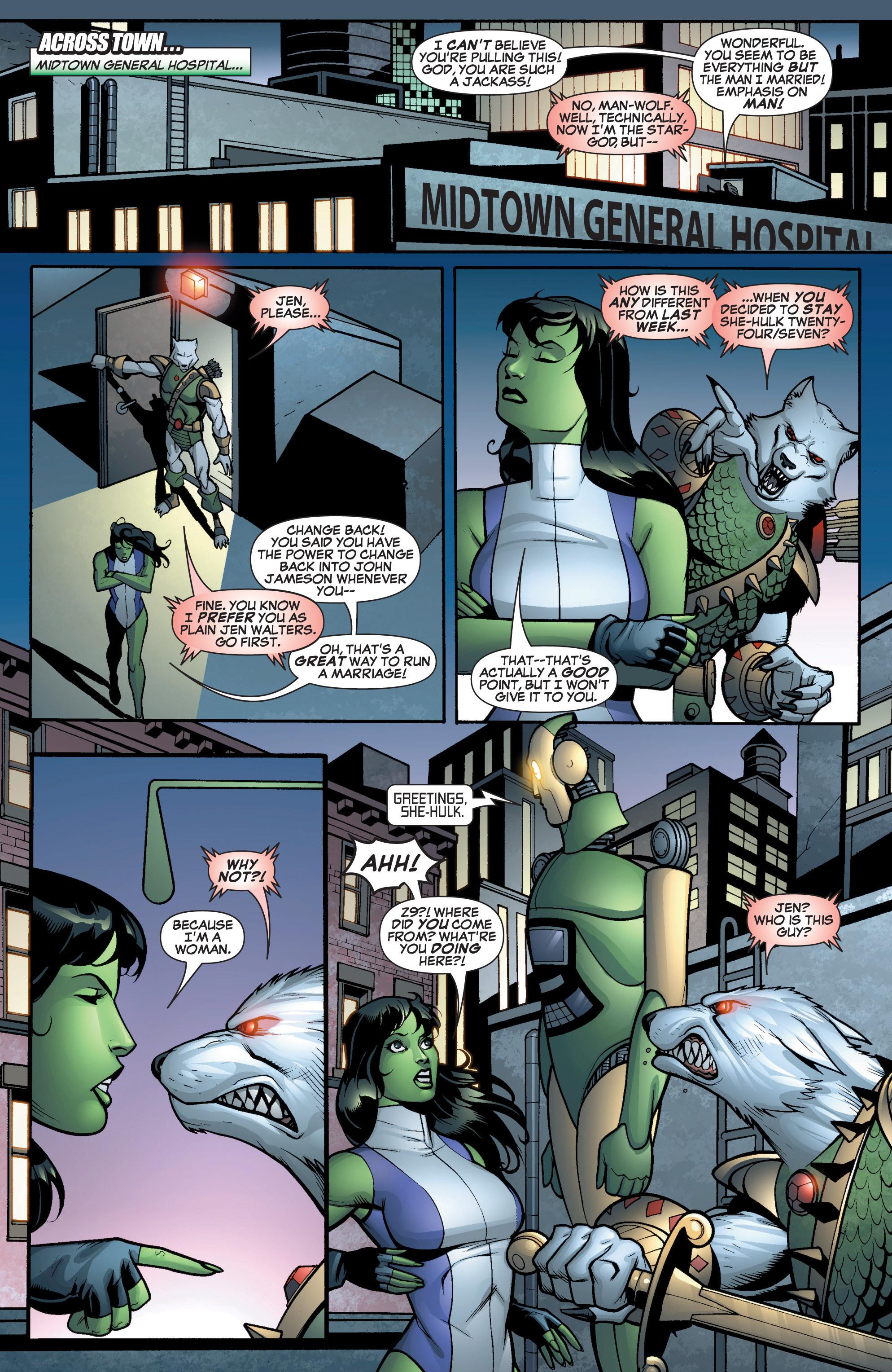 Read online She-Hulk (2005) comic -  Issue #12 - 6