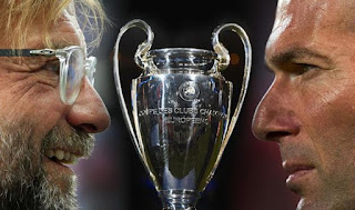 The final match of the Champions League between Real Madrid and Liverpool