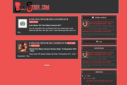 Baniseo blogger template. Seo, Responsive, Valid HTML 5