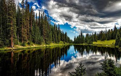 lake irene widescreen resolution hd wallpaper