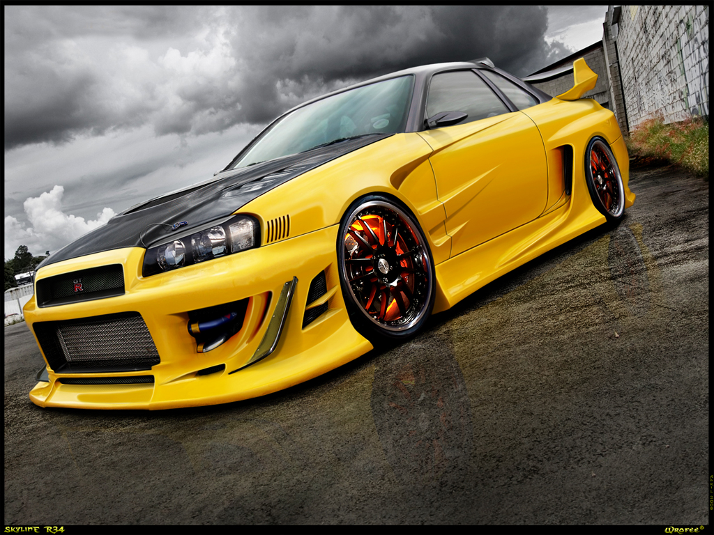 Nissan Skyline R34 Wallpaper Free Wallpapers Of The Most