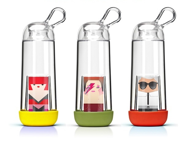 41866dbb42 French designer My Name is Simone has teamed up with Gobilab to give its  eco-friendly water bottle a new summer look. The Gobi can be personalised  thanks to ...
