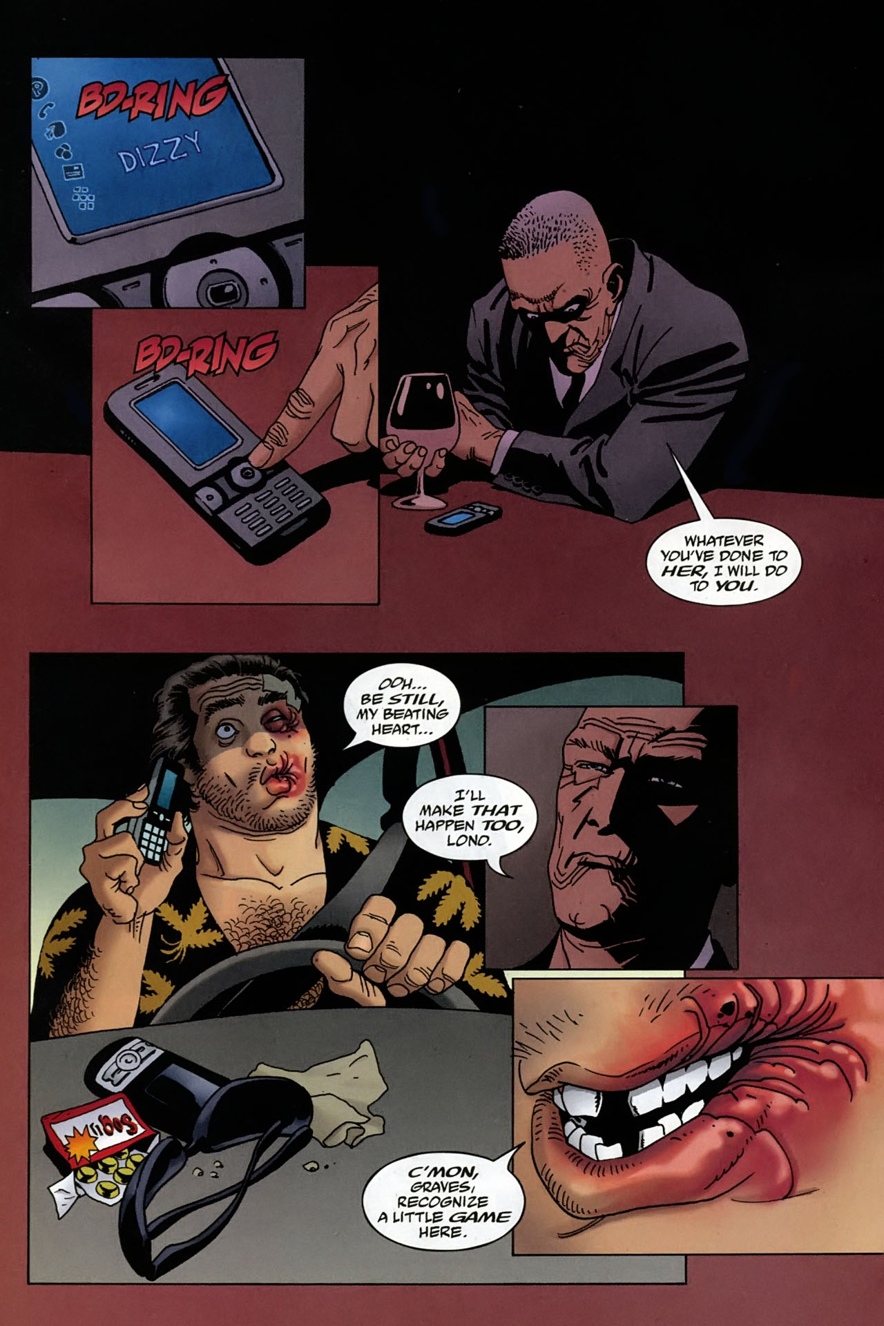 Read online 100 Bullets comic -  Issue #96 - 4