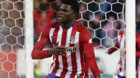 Ghana international Thomas Partey made into Diego Simeone's 24 man squad that will play some pre-season games in Australia this week.