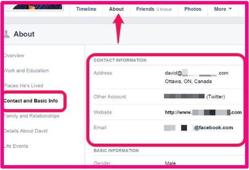 How to Find Facebook Email