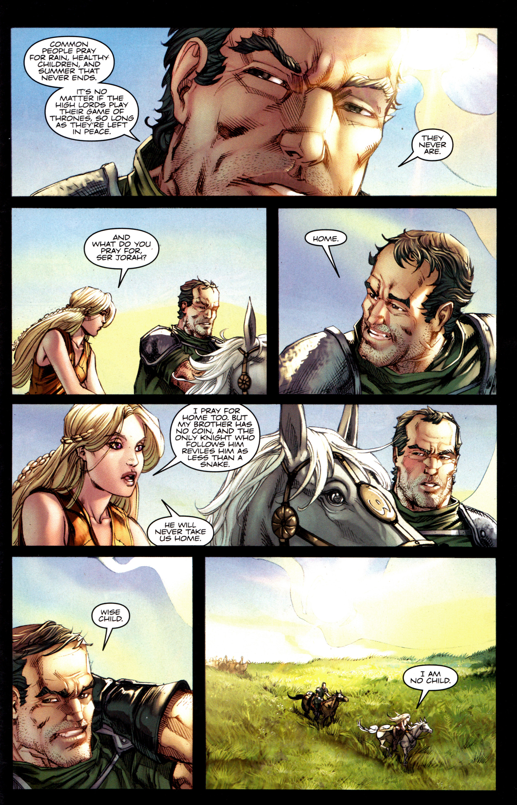 Read online A Game Of Thrones comic -  Issue #6 - 27
