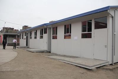 MINEDU entrega 200 aulas prefabricadas a región Puno