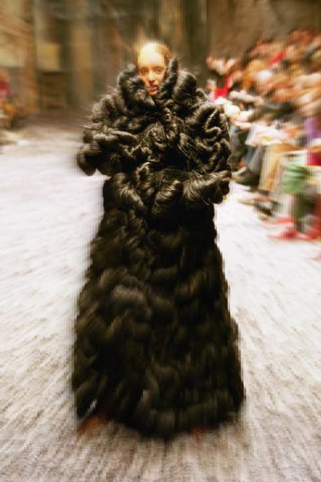 Margiela Wig Coat 72