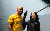 Krysten Ritter and Mike Colter in The Defenders Series (16)
