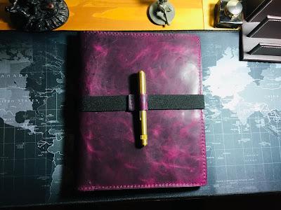 ZenKraft Purple Haze Composition Book Folio