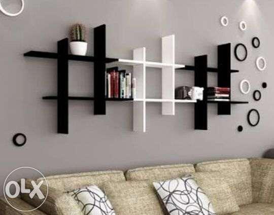 Rak Dinding Minimalis Sidoarjo Mandala Home Decor Klasik Ready Stock
